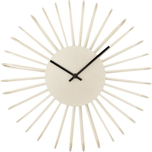 Gold Metal Wire Clock D40