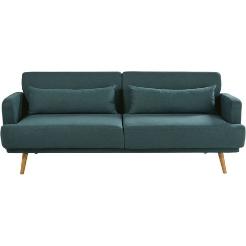Green 3-Seater Sofa Bed Elvis