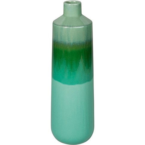 Green Ceramic Vase H 42 Cm