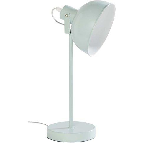 Green Metal Desk Lamp