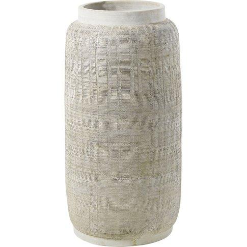 Grey Ceramic Vase H71