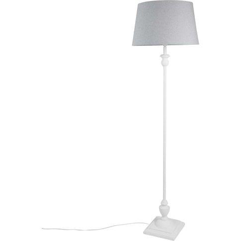 Grey Floor Lamp H159