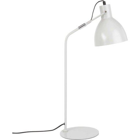 Grey Metal Desk Lamp