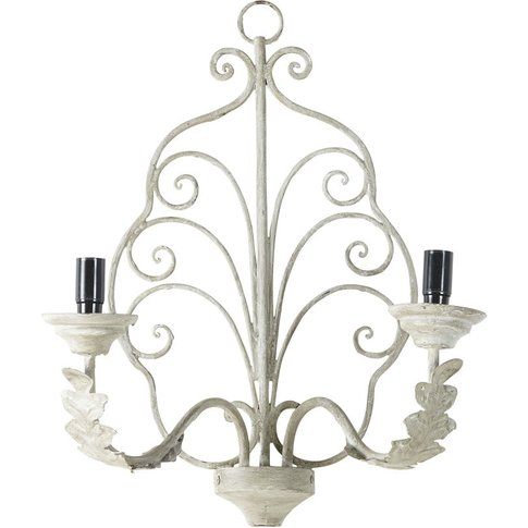 Grey Metal Wall Lamp