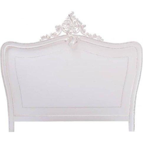 Headboard In White W 140cm Comtesse