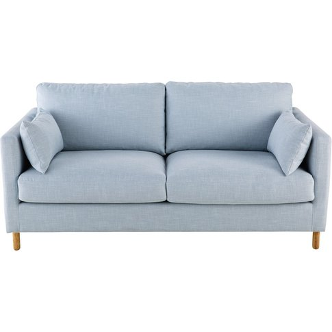 Iceberg Blue 3-Seater Sofa Bed Julian