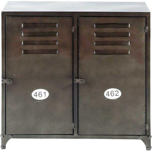 Industrial 2-Door Metal Sideboard Wayne