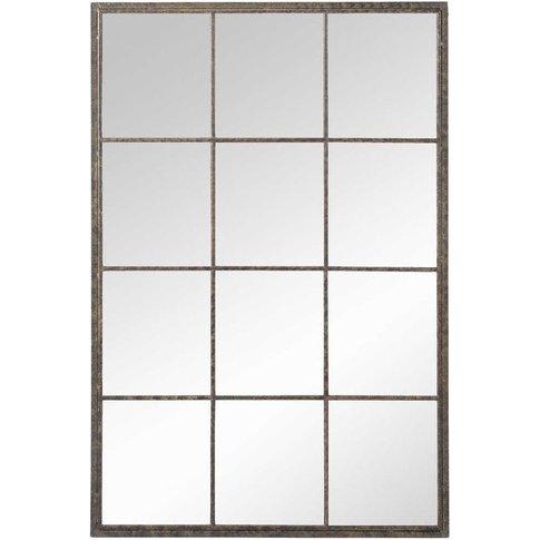 Industrial Metal Mirror 80x120