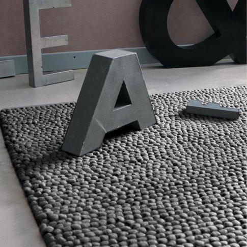 Industry Woollen Rug In Grey 160 X 230cm