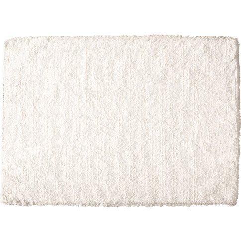 INUIT off-white long pile rug 160 x 230 cm