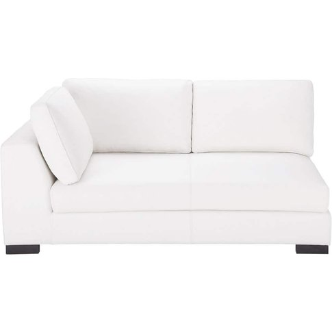 Leather Lhf Modular Sofa Bed In White Terence