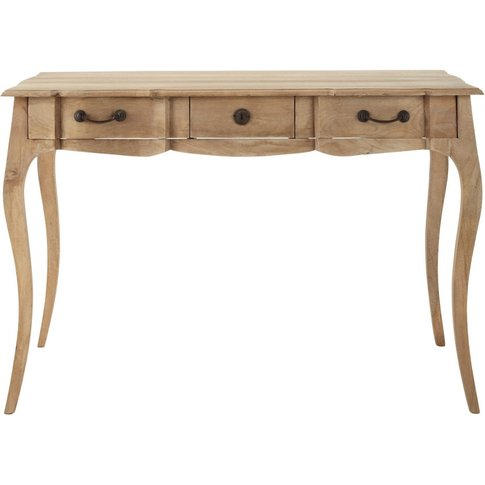 Mango Wood And Acacia Writing Desk Colette
