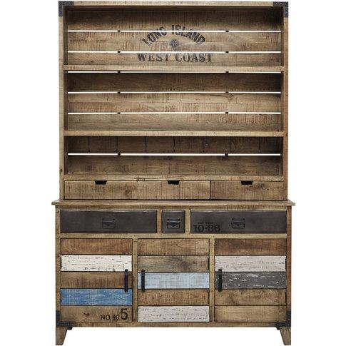 Mango Wood And Metal China Cabinet W 148cm Sailor