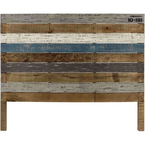Mango Wood Board 140cm Headboard Sailor