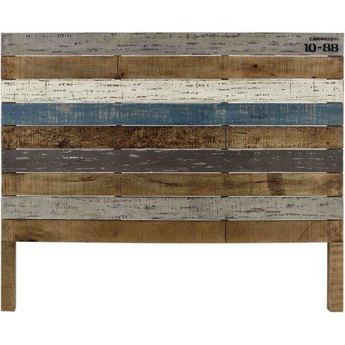 Mango wood board 140cm headboard Sailor