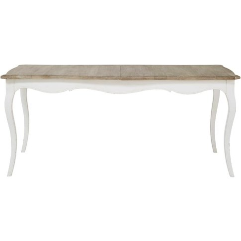 Mango Wood Extendible 8-10 Seater Dining Table W 180...