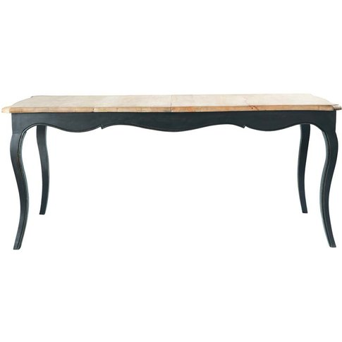 Mango Wood Extending Dining Table W 180cm Versailles