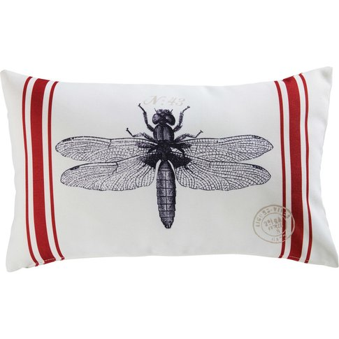 Marra Dragonfly Print Fabric Garden Cushion 30x50