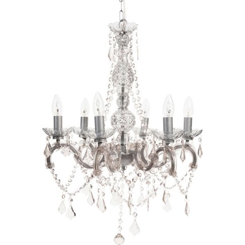 Metal Drop Bead Chandelier