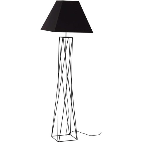 Metal Floor Lamp Wtih G96black H163