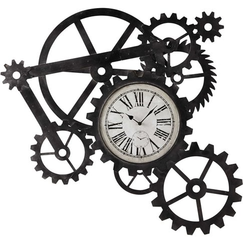 Metal Industrial Clock 86x91