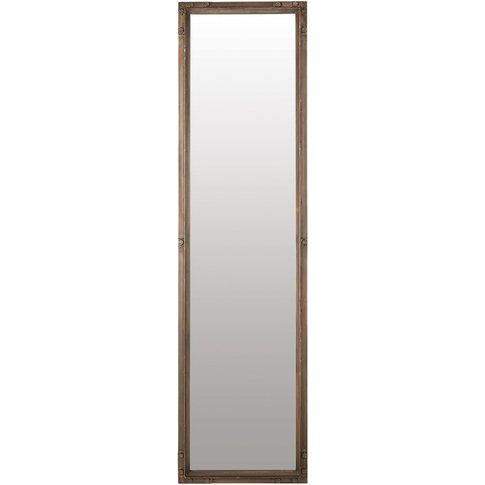 Metal Mirror 46 x 173 cm