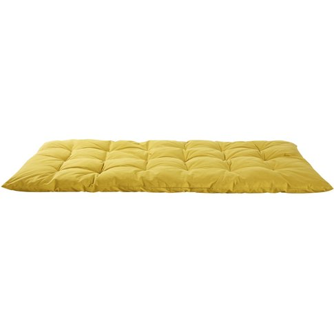 Mustard Yellow Cotton Futon 60x120