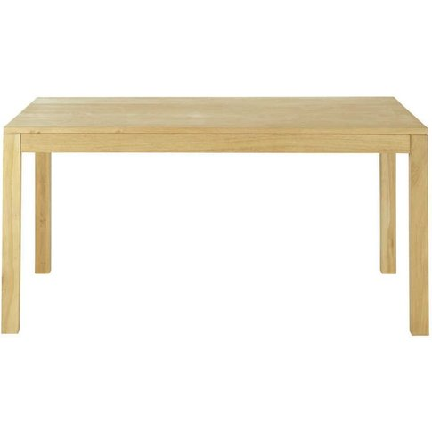 Oak Extendible 6-8 Seater Dining Table W 160/210cm H...