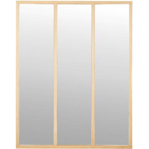 Oak Mirror 95 X 120 Cm