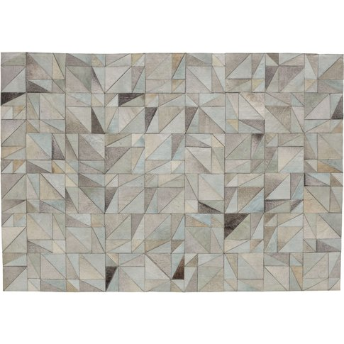 OSCOPE leather rug 140 x 200cm