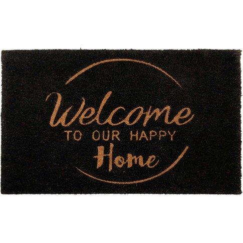 Printed Coconut Fibre Doormat 60x90