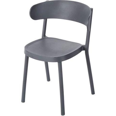 Professional Anthracite Grey Garden Chair Iza PRO