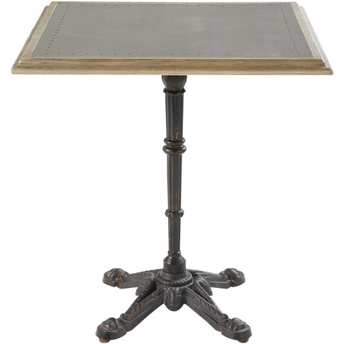 Professional Dining Table In Oak And Metal L70 Brass...