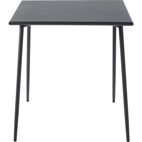 Professional Grey Metal Garden Table L70 Savannah Pro