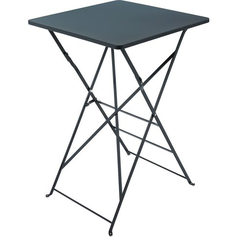 Professional Grey Metal High Garden Table H105 Guing...