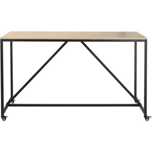 Professional High Dining Table On Wheels W180 Hudson...