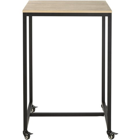 Professional High Dining Table On Wheels W70 Hudson Pro