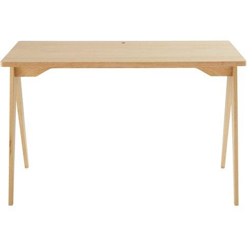Professional Quality Oak Desk L120 Eko Pro