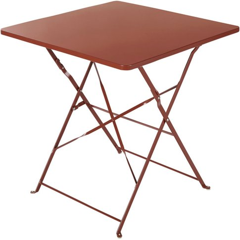 Professional Terracotta Metal Garden Table L70 Guing...
