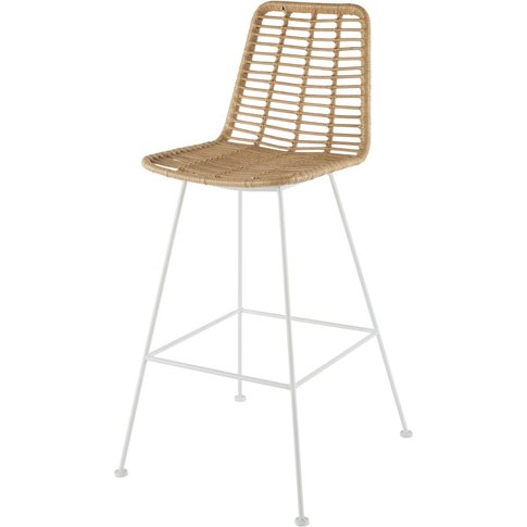 Professional White Metal And Resin High Garden Chair...