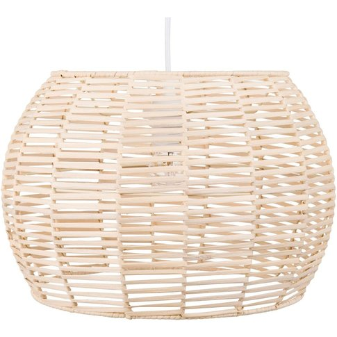Rattan Pendant Light D44