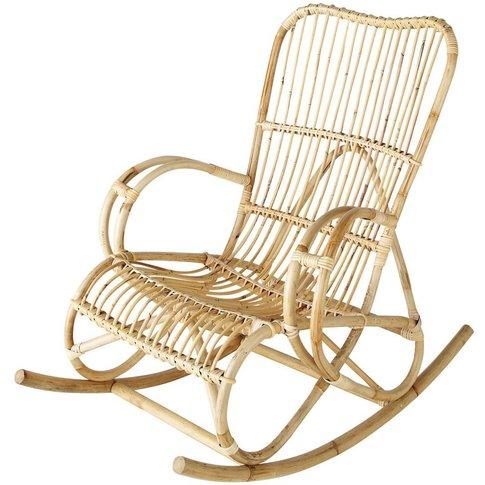 Rattan rocking chair Louisiane