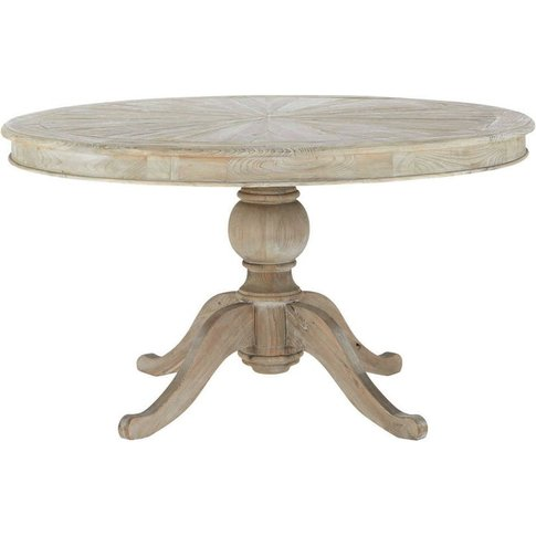 Round wooden dining table D 140cm Neuilly