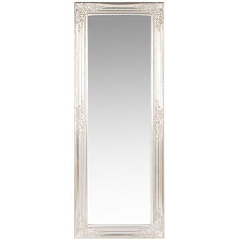 Silver Paulownia Mirror 50x130