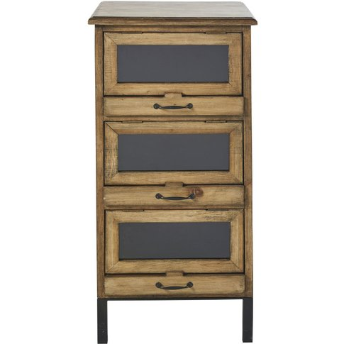 Small 3-Drawer Storage Unit