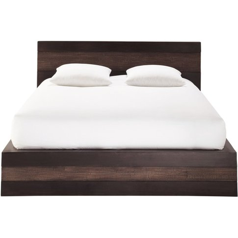 Solid Mango Wood 140 X 190 Double Exotic Bed Java