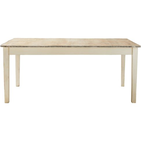 Solid Mango Wood 6-8 Seater Dining Table W 180 Cm Ca...