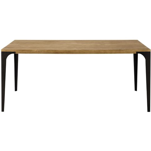 Solid Mango Wood Dining Table L180 Metropolis