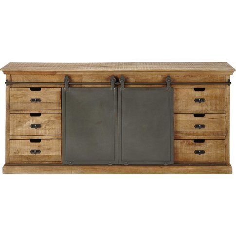 Solid Mango Wood Sideboard Germain