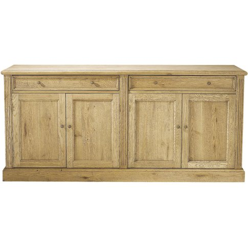 Solid Oak Sideboard W 185cm Atelier